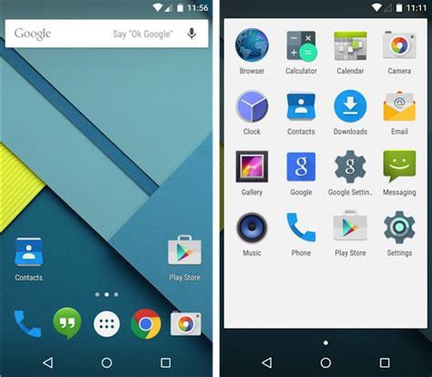 android home screen android 5 0 lollipop our impressions rkuk media