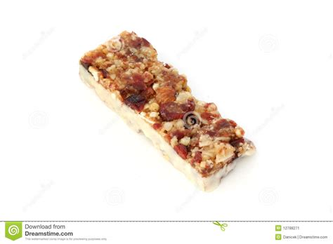 yogurt topping for muesli bars muesli bar in yogurt stock image image 12788271