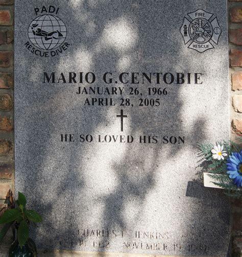 Biloxi Department Arrest Records Mario Quot Centorbi Quot Centobie 1966 2005 Find A Grave Memorial