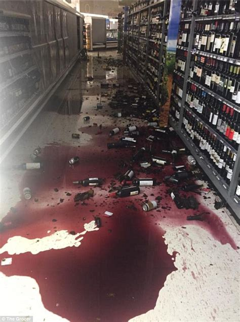earthquake wine new zealand earthquake sends bottles of red wine falling