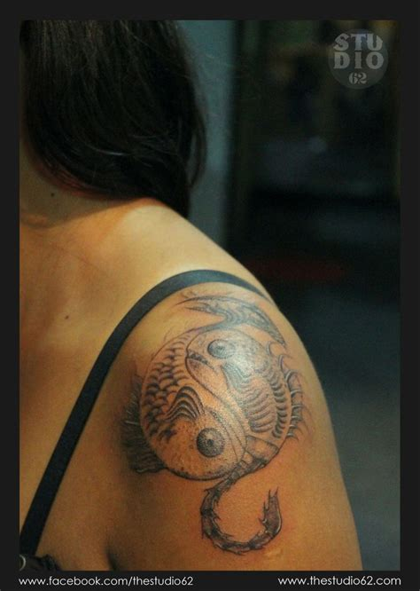 pisces and scorpio tattoo 36 best images about pisces and scorpio on