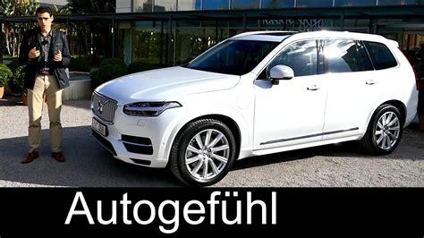 volvo xc  plugin hybrid twin engine inscription trim review test drive autogefuehl