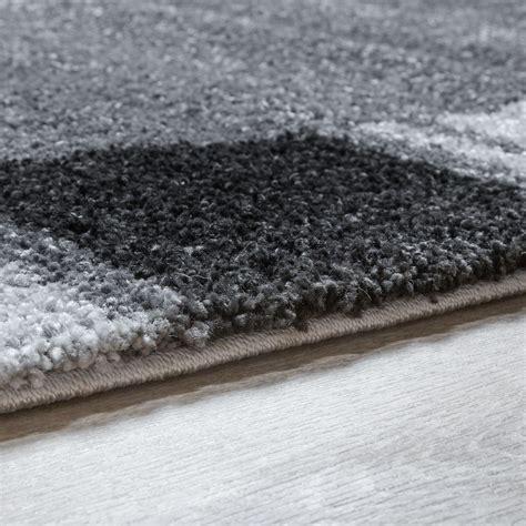 moderne kurzflorteppiche moderner webteppich kurzflor bord 252 re schlichtes design