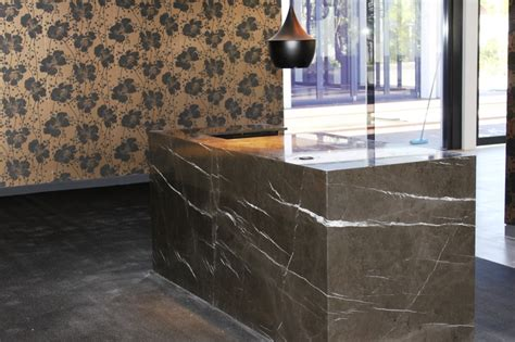 Granite Reception Desk 17 Best Images About Pietra Grey Marble On Pinterest Stainless Steel Reception Desks And Terrace