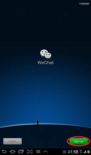 buat akun wechat facebook blog anak kampai cara daftar dan buat id wechat untuk hp