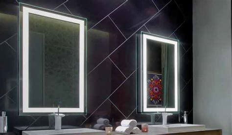 ideas for lighted bathroom mirrors light decorating ideas