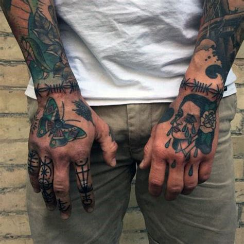 barbed wire tattoos for men 60 barbed wire designs for cut into ideas