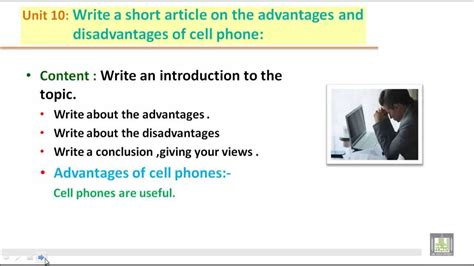 Essay On Mobile Phones Advantages And Disadvantages In by Writing B2 U10 Write A Artical On The Advantages And Disadvantages Of Cell Phone