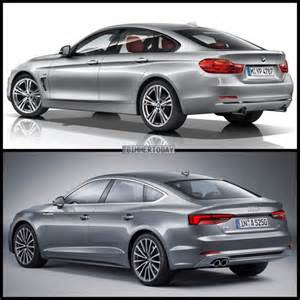 photo comparison bmw 4 series gran coupe vs audi a5 sportback