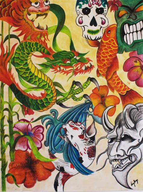 japanese tattoo artists usa tattoo art posters image search results