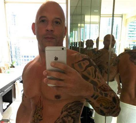 vin diesel tattoo fashion