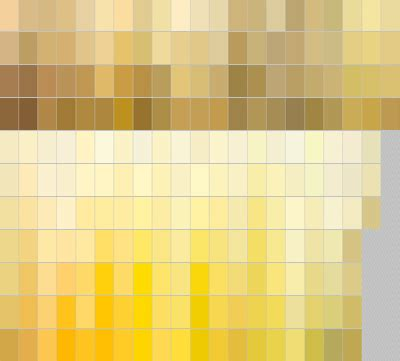 various shades of yellow home decor
