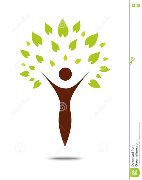 Wellness Couple Tree Leaf Icon Royalty Free Stock Image Cartoondealer Com 84898030 Tree Logo Green Tree Ecology Illustration Symbol Icon Vector Design Stock Vector Image