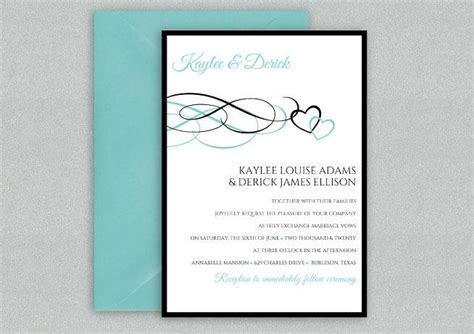 diy wedding invitation template instant