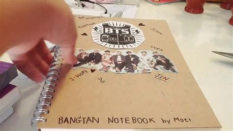 kpop bts notebook notepad i am a r m y and i my oppa 108 pages 8 5 x 11 20 line pages books ต วอย าง diy kpop bts notebook coming soon เร วๆน mof