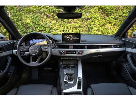 Audi A4 Interior by 2017 Audi A4 Interior U S News World Report