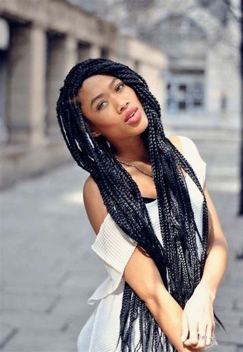 how long to get poetic justice braids braided hairstyles for black women trending 2015