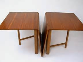Dining Room Tables With Folding Leaves Drop Leaf Teak Dining Table By Bruno Mathsson At 1stdibs