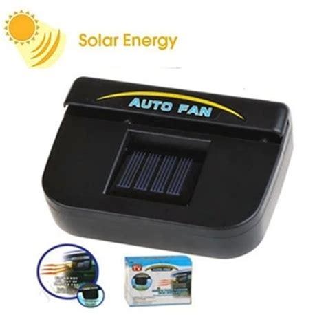 portable klimaanlage auto solar car cooling fan reviews shopping solar car