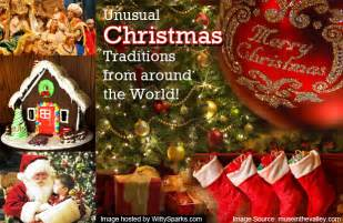 unusual christmas traditions from around the world witty