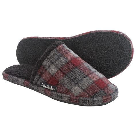 woolen slippers woolrich chatham slide wool slippers for