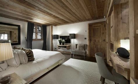 Agréable Deco Chambre Chalet Montagne #3: Decoration-interieur-chambre-chalet.jpg
