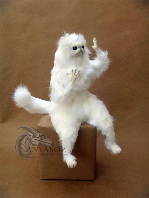 White Cat Meme - anyaboz wtf this ridiculous persian cat room guardian