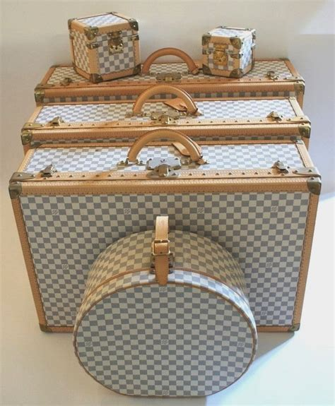 lv musafir damier set by honshop louis vuitton damier azur luggage hat