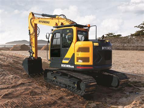 hyundai excavator specs hx145 l crawler excavator hyundai construction equipment