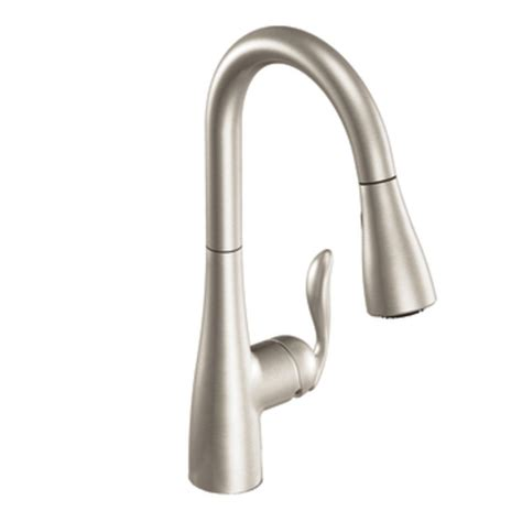 Kohler Brushed Nickel Kitchen Faucet by Best Kitchen Faucets 2015 Chosen By Customer Ratings