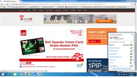 Wifi Speedy Untuk Cafe palmed aprianto gunakan wifi id untuk ber internetan