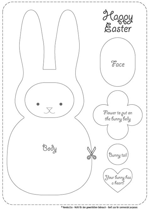 template for easter bunny create your own revoluzzzionary easter bunny revoluzzza