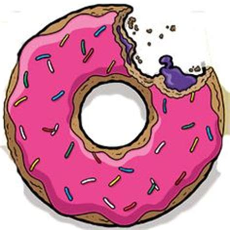 Use The Simpons Doughnut Maker To Cure Those Homer Like Cravings by Free Vector Donut Drawing Simple Vector Illustration
