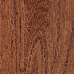 mohawk 3 07 in w prefinished handscraped oak locking hardwood flooring gunstock oak lowe s