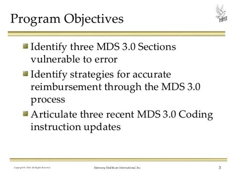 mds 3 0 section d mds 3 0 a guide to coding accuracy