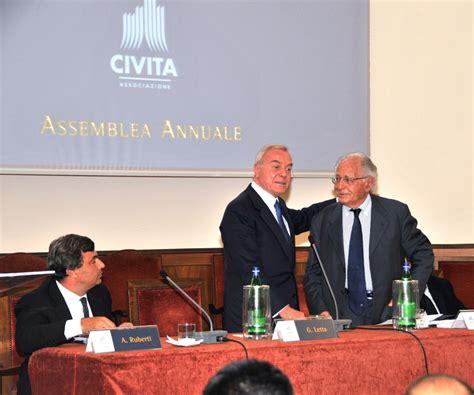 gianni letta civita al macro di roma incontro per rilanciare cultura e
