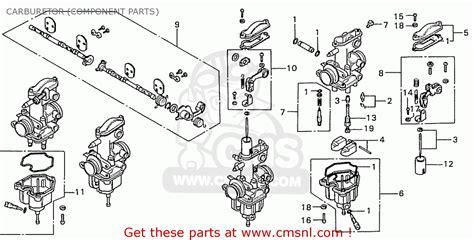Karburator Cb100 By Kaizen Part honda 187 cb 550k caferacer forum de