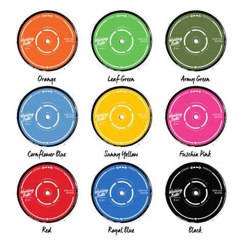 printable record labels personalised wedding record print by the design conspiracy