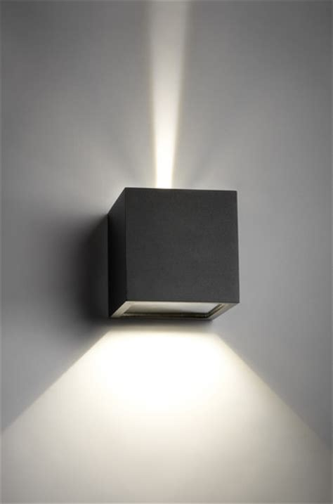 cube led wall lights  light point architonic