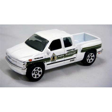 matchbox chevy silverado matchbox national parks ranger chevrolet silverado