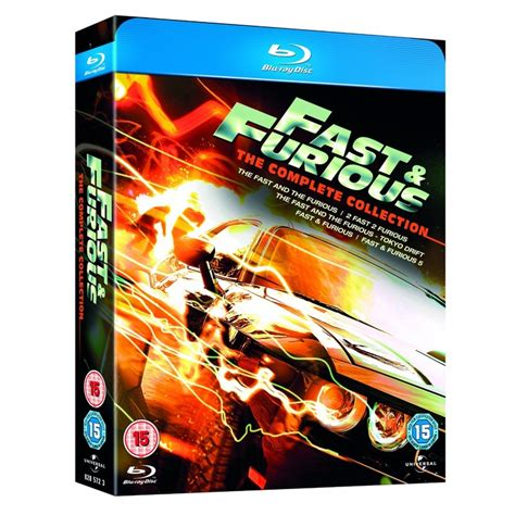 fast and furious dvd set fast furious 1 5 box set my blurays dvd box sets