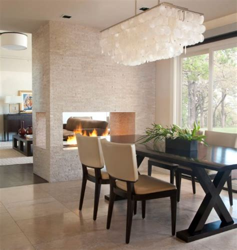 Just Two Fabulous Fireplaces by Dining Room Fireplace Ideas For Winter Nights