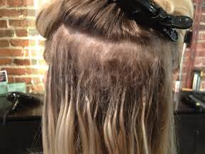 pictures of hair exrensions shrink links hair extensions one stylists quest to