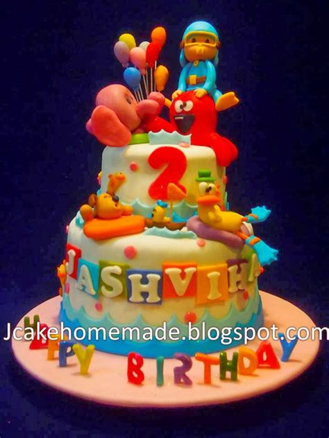 pocoyo birthday cake jcakehomemade pocoyo birthday cake