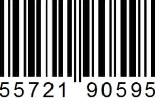 Supply 5 unique ean orupc barcode images for use on amazon cdbaby