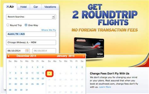 Southwest Deal Calendar Book Travel Southwest And Airtran Schedule Open