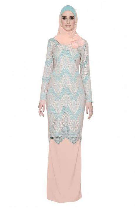 Baju Kurung With Lace lace malaysia and on