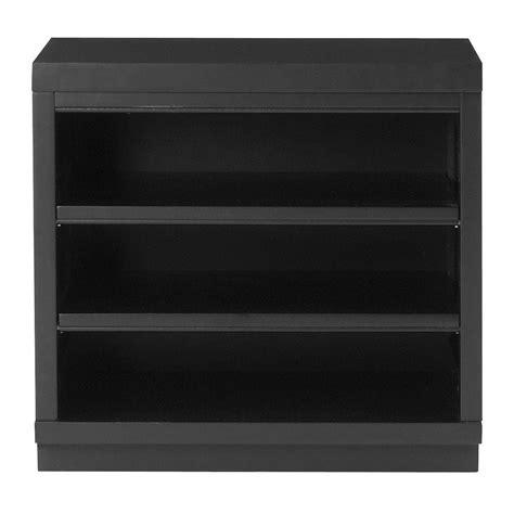 black shelving unit martha stewart living mudroom 2 shelf wood base shelving unit in worn black 1914200910 the