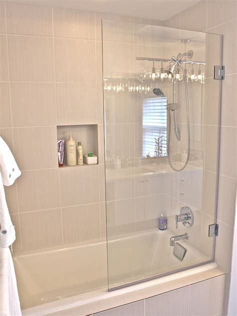 frameless glass bathtub doors photos supplied by our customers frameless and semi