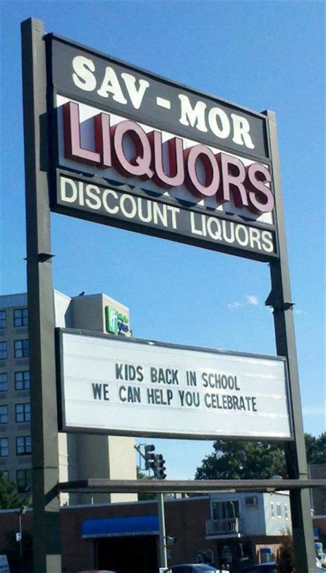liquor signs liquor store in maryland has the funniest signs you ll see